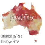 Orange and Red Tie Dye
